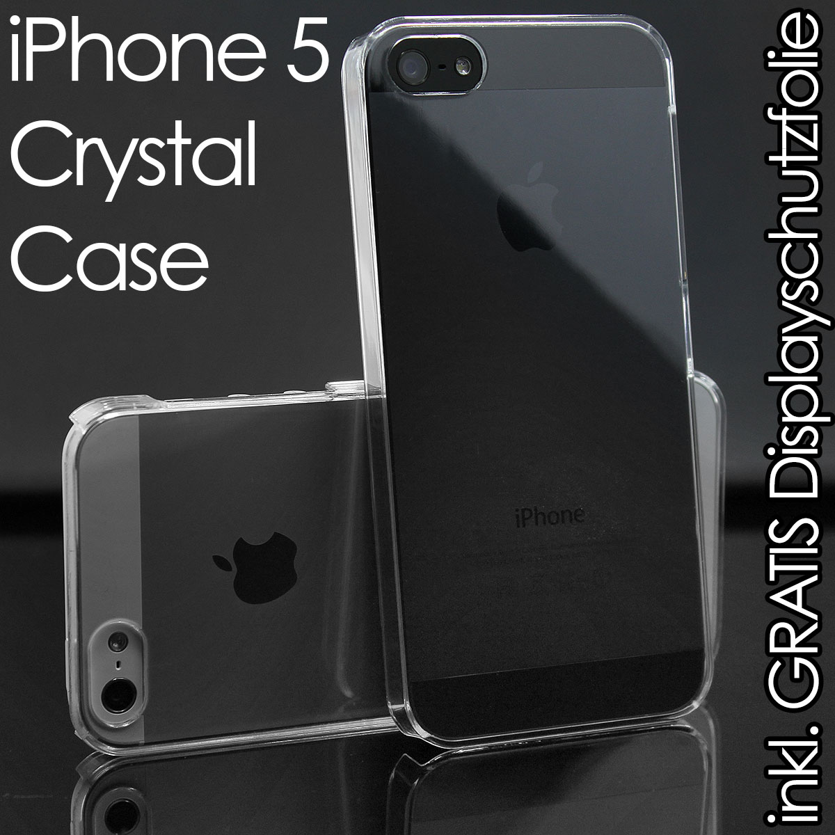 iPhone-5-ULTRA-DUNN-Crystal-Case-Hard-Schutz-Huelle-Cover-clear-transparent-NEU