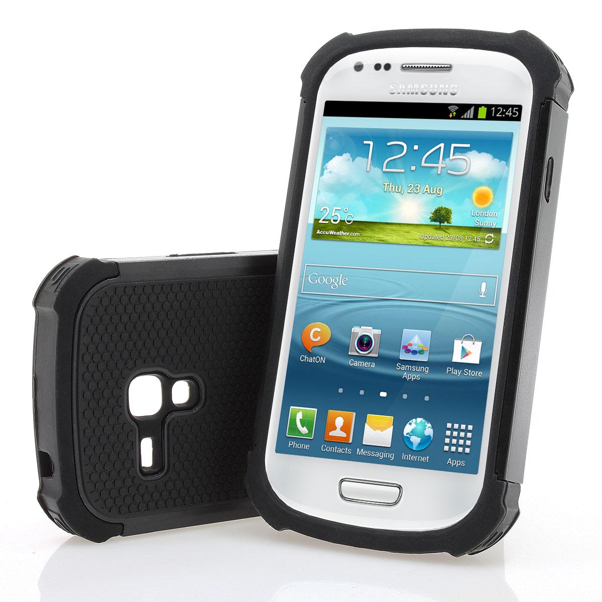 samsung galaxy s3 mini i8190 outdoor silikon h lle case. Black Bedroom Furniture Sets. Home Design Ideas