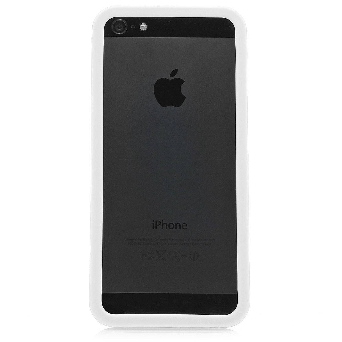 neu apple iphone 5 5s tpu bumper case silikon schutz. Black Bedroom Furniture Sets. Home Design Ideas