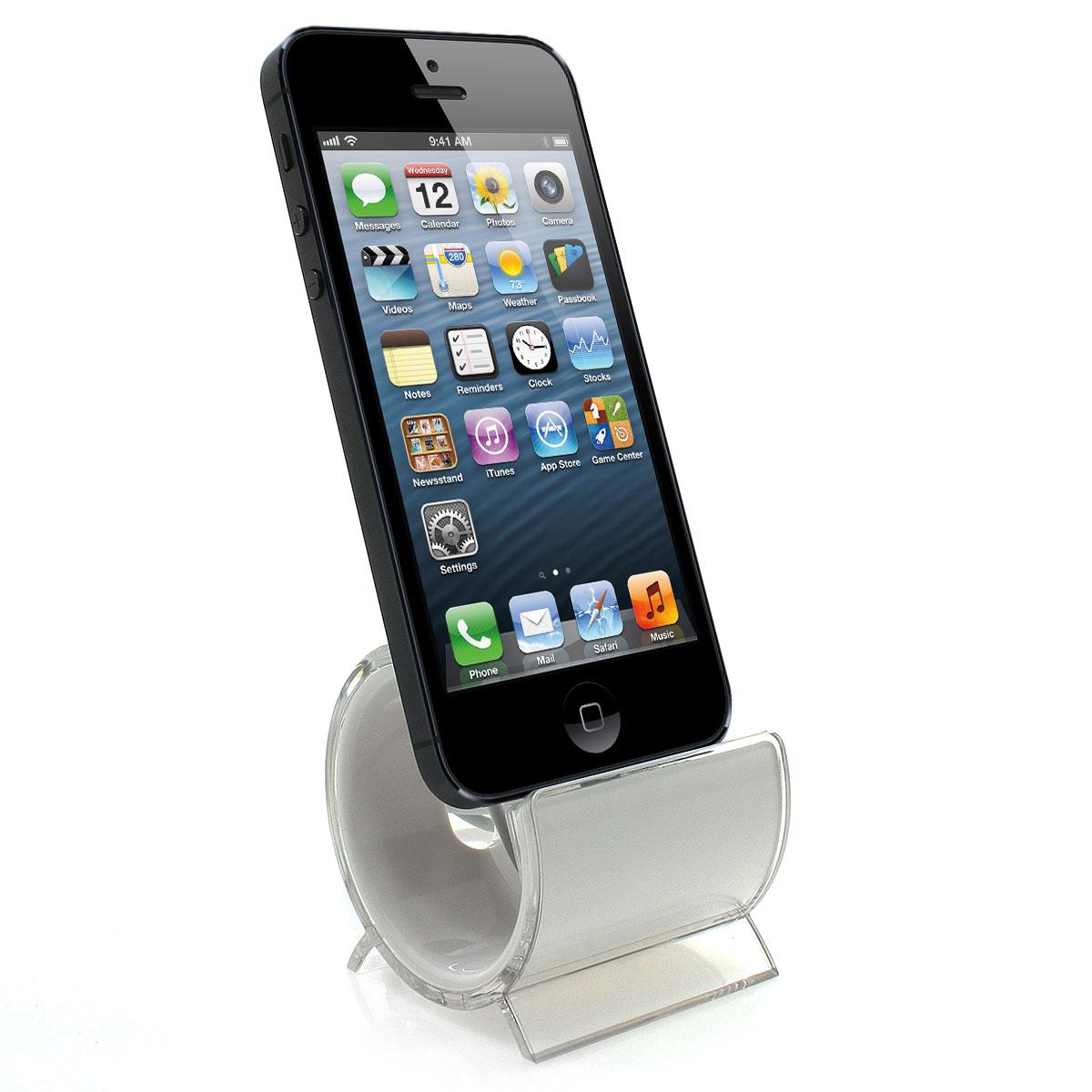ladestation f r apple iphone 5 5s 5c 6 6s 7 8 x docking. Black Bedroom Furniture Sets. Home Design Ideas