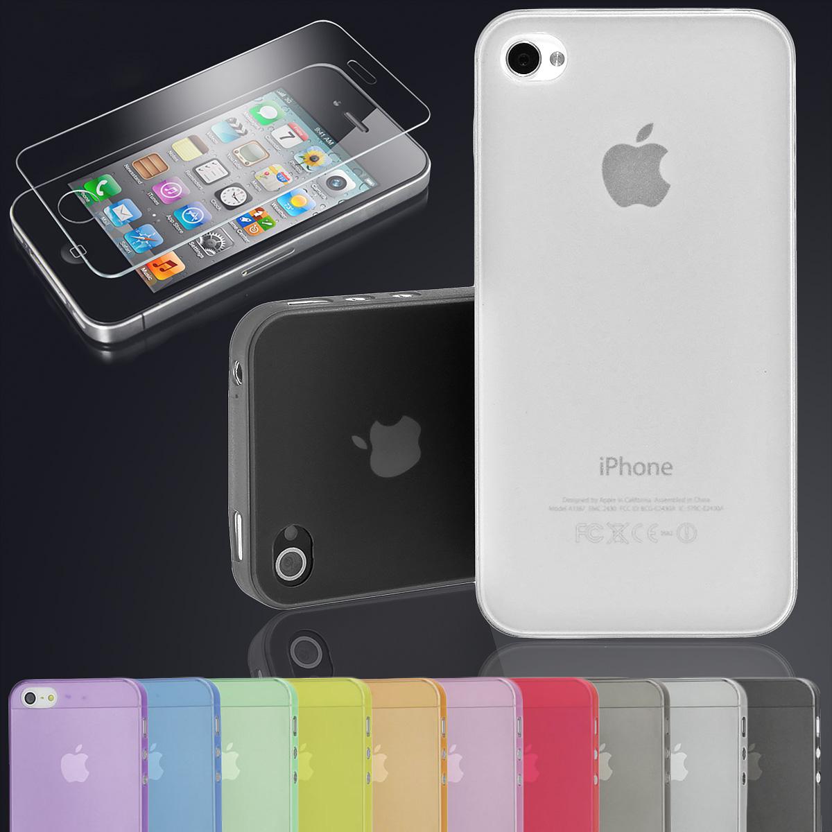 apple iphone 4s 5 5s 6 6s ultra d nn schutzh lle 0 3mm bumper back cover case ebay. Black Bedroom Furniture Sets. Home Design Ideas