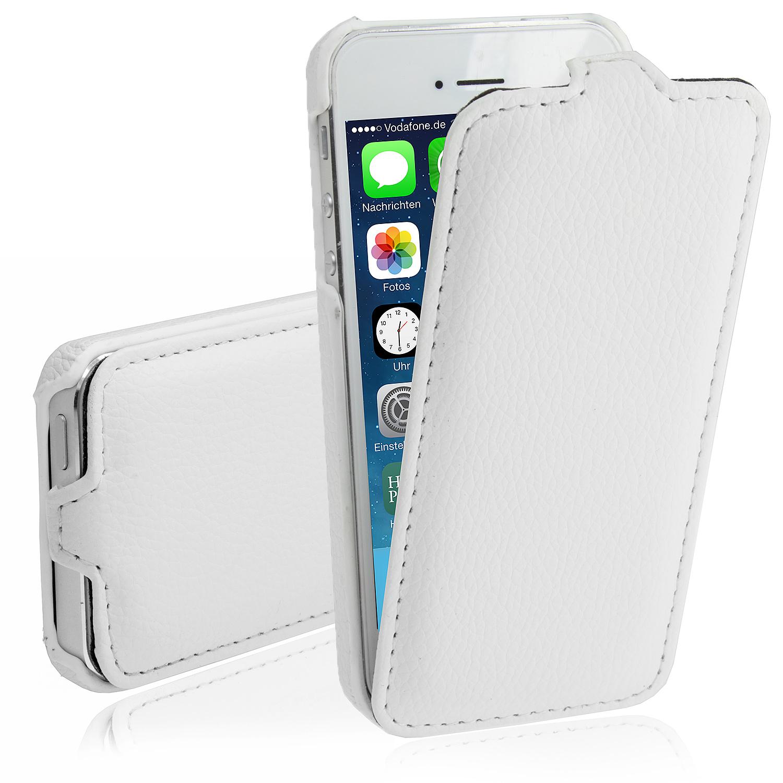 apple iphone 5 5s premium handy tasche flip case backcover schale bumper neu ebay. Black Bedroom Furniture Sets. Home Design Ideas