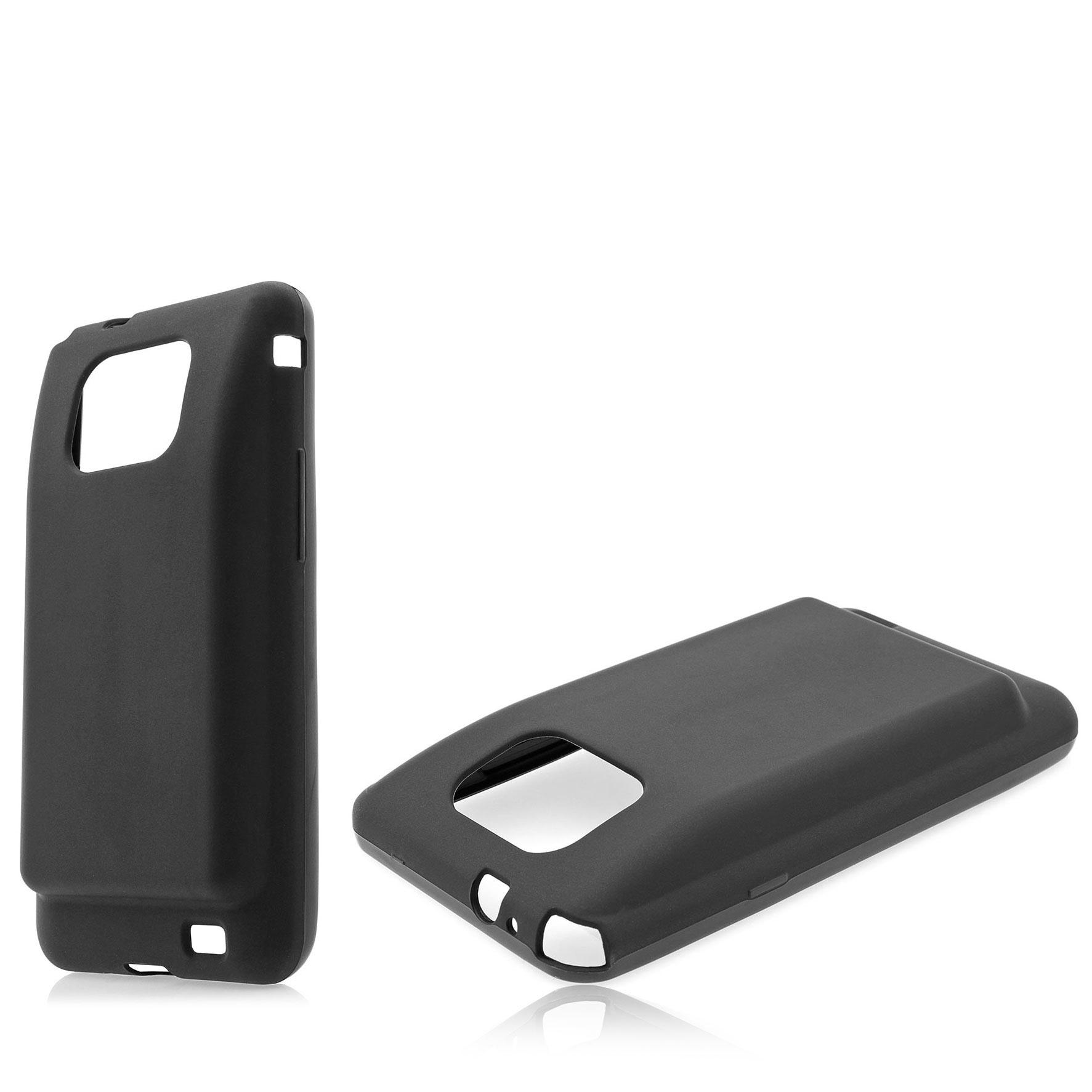 Samsung-Galaxy-S2-i9100-Backcover-fuer-Power-Akku-Deckel-Case-schwarz