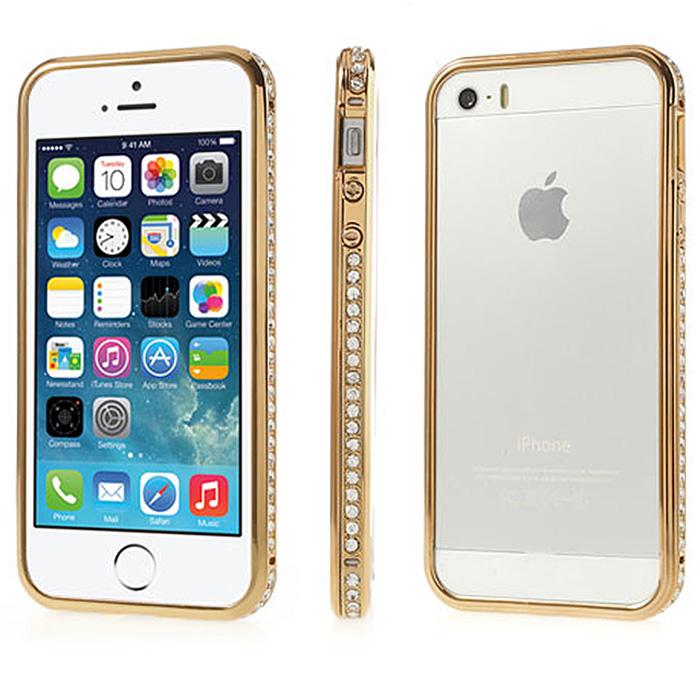 Apple Iphone 5 5s Aluminium Bumper Slim Case Schutz Hülle Metall