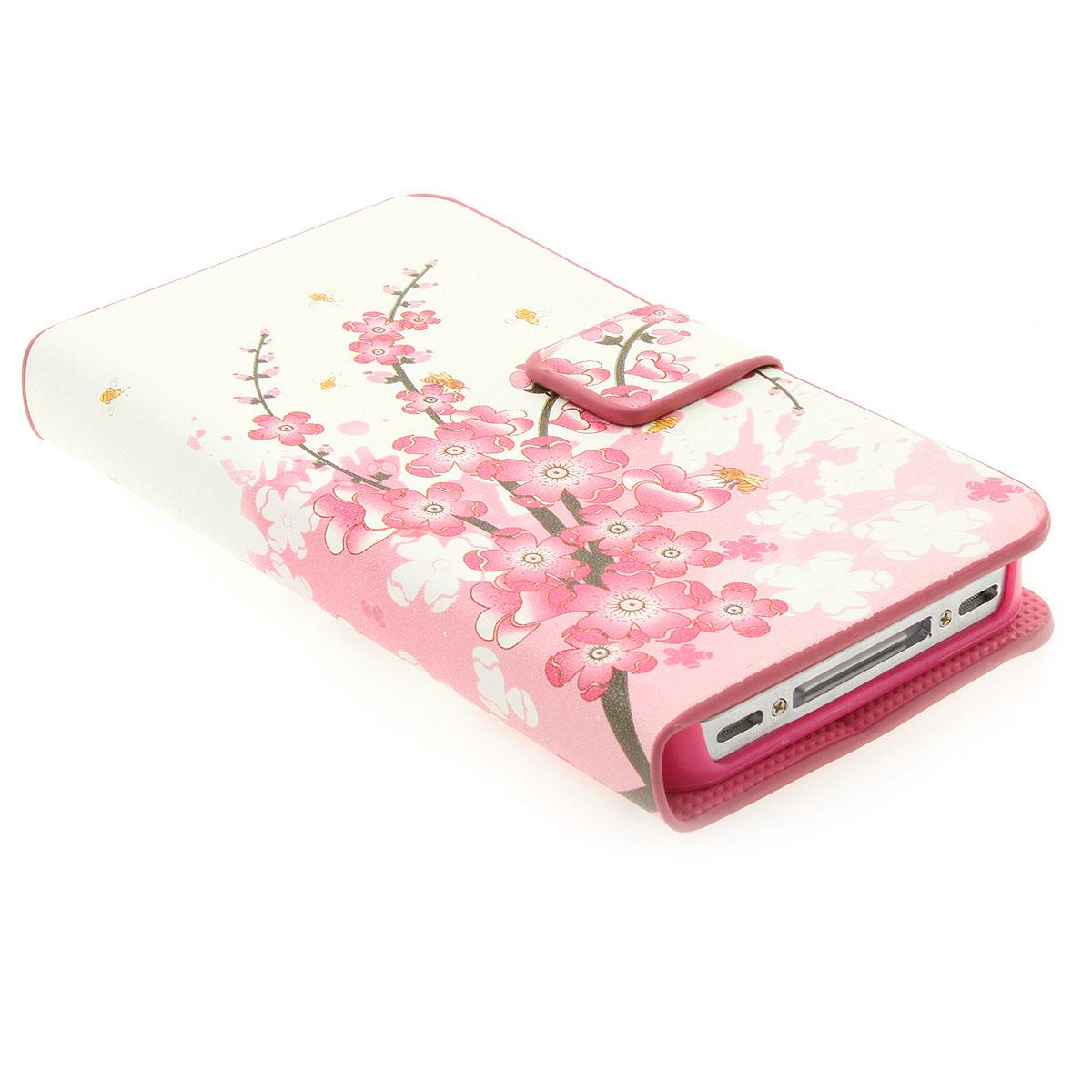 apple iphone 4 4s handy h lle bumper flip handy tasche. Black Bedroom Furniture Sets. Home Design Ideas