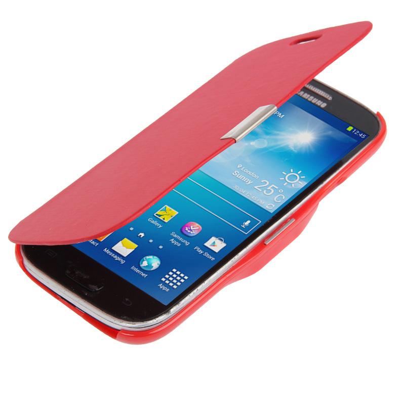 Flip-Tasche-fuer-Samsung-Galaxy-S4-Mini-i9190-i9195-Handy-Huelle-Bumper-Back-Cover