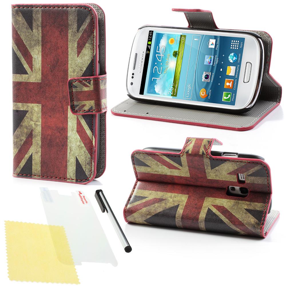 samsung galaxy s3 mini i8190 handytasche wallet book style. Black Bedroom Furniture Sets. Home Design Ideas