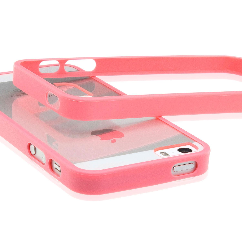apple iphone 5 5s tpu bumper silikon schutz h lle. Black Bedroom Furniture Sets. Home Design Ideas