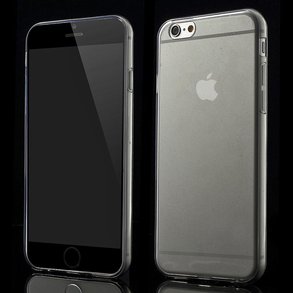 apple iphone 6 6s tpu silikon schutzh lle bumper crystal case tasche handytasche ebay. Black Bedroom Furniture Sets. Home Design Ideas