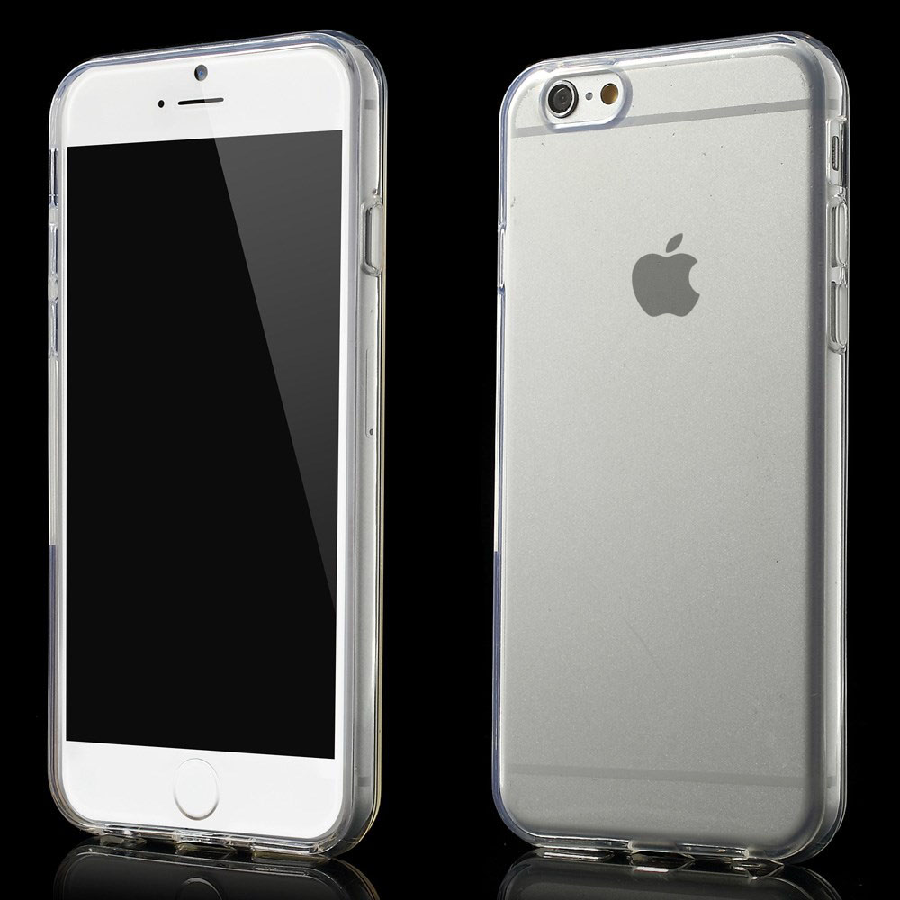 apple iphone 6 6s tpu silikon schutz h lle bumper crystal case handy tasche. Black Bedroom Furniture Sets. Home Design Ideas