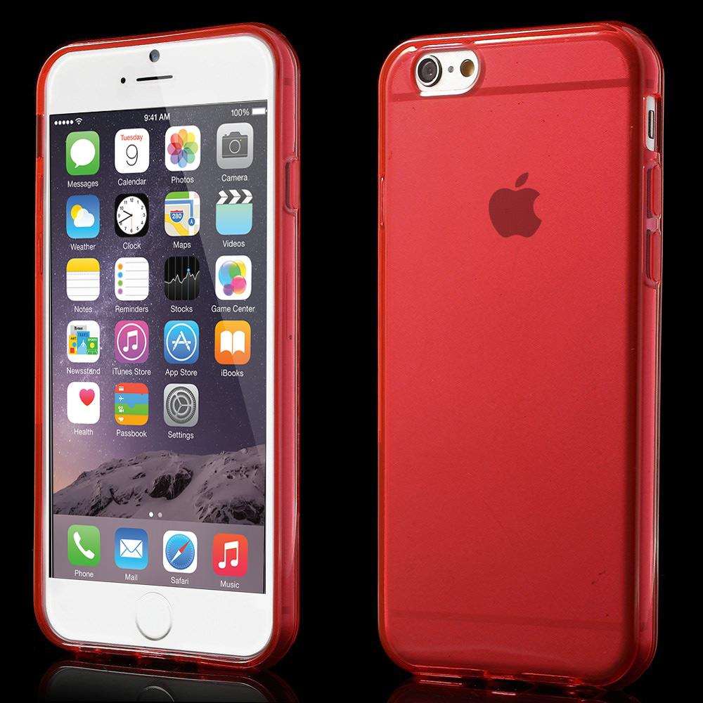 apple iphone 6 6s tpu silikon schutz h lle bumper crystal. Black Bedroom Furniture Sets. Home Design Ideas