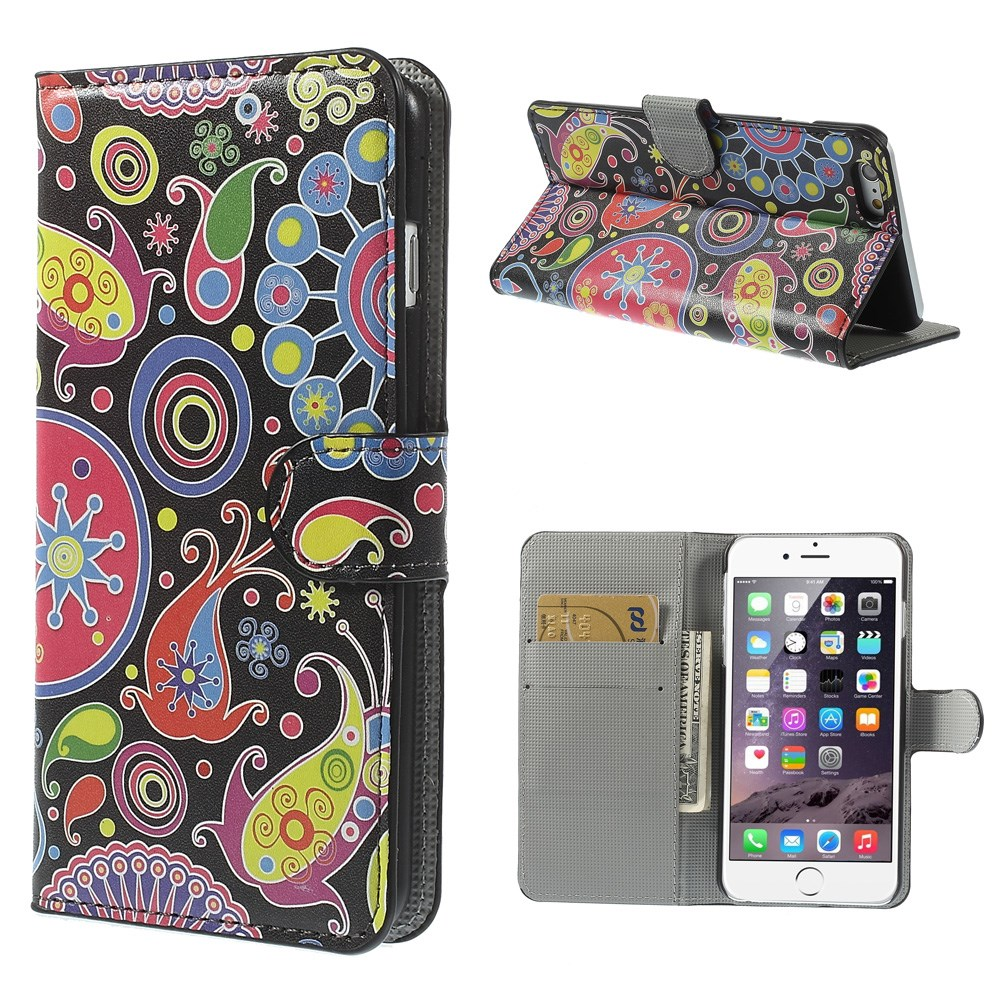 iphone 6 6s 6 plus wallet bookstyle buch flip cover kunst. Black Bedroom Furniture Sets. Home Design Ideas