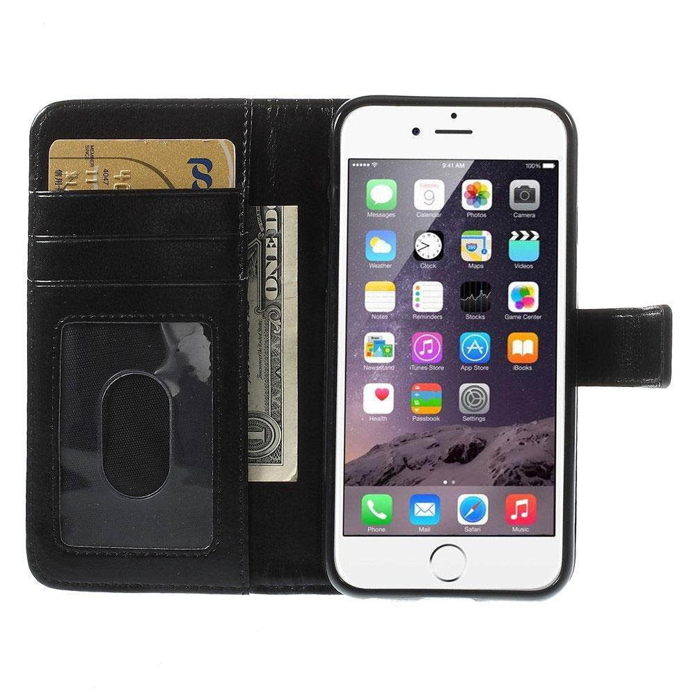 apple iphone 6 6s abnehmbare handytasche rei verschluss fach geldb rse ebay. Black Bedroom Furniture Sets. Home Design Ideas
