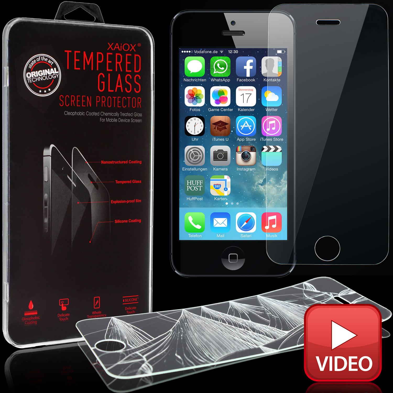 apple iphone 5 5c 5s se panzerfolie aus echt glas. Black Bedroom Furniture Sets. Home Design Ideas