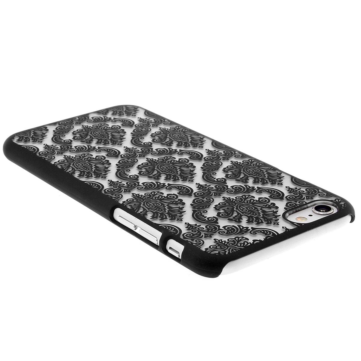 apple iphone 6 6s plus schutzh lle embossed blumen paisley muster case ebay. Black Bedroom Furniture Sets. Home Design Ideas