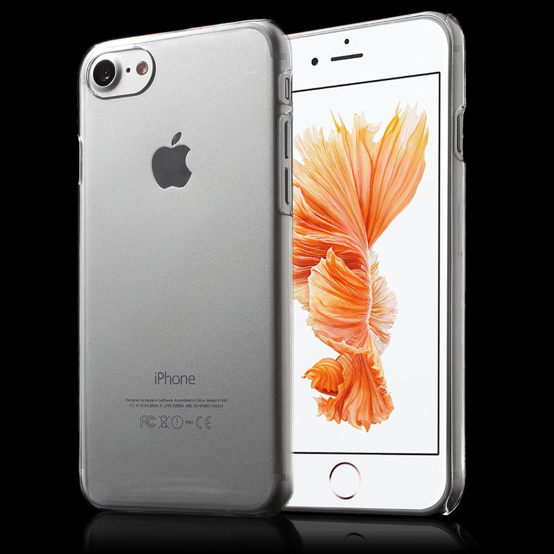 apple iphone 7 und iphone 8 crystal case schutz h lle. Black Bedroom Furniture Sets. Home Design Ideas