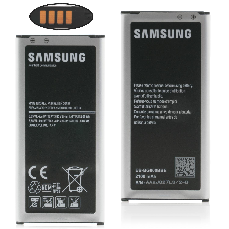 826491997dde60 Details zu Original Samsung Galaxy S5 Mini Akku SM-G800F EB-BG800BBE NFC  Battery Accu NEU ✅