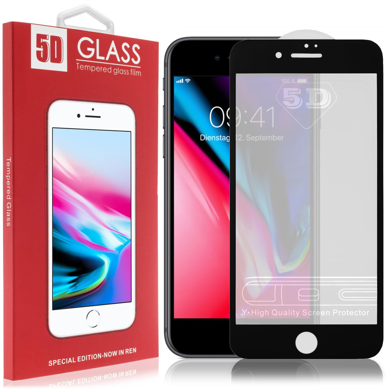 iphone 6 plus 6s plus 5d full cover panzerglas. Black Bedroom Furniture Sets. Home Design Ideas