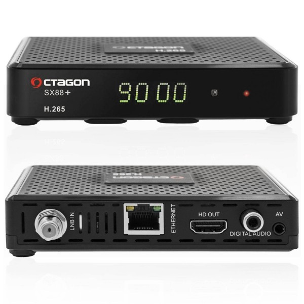 Octagon SX88+ PLUS H265 Multistream HD Satelliten Receiver