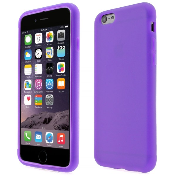 Apple iPhone 6 TPU Touch Case - lila