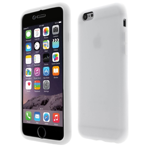 Apple iPhone 6 TPU Touch Case - milch transparent
