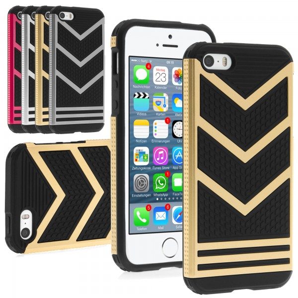 iPhone 5 / 5s Hülle Bumper Case Outdoor Cover