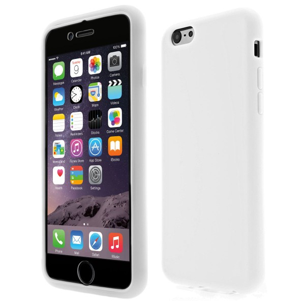 Apple iPhone 6 TPU Touch Case - weiss