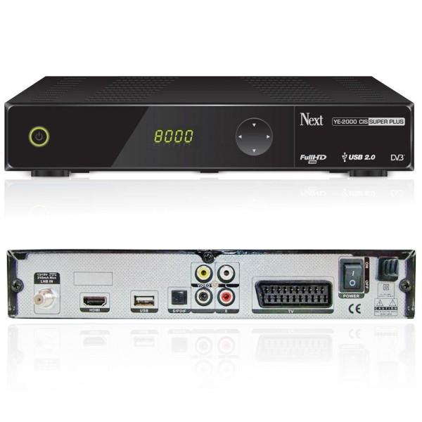 Next YE-2000 HD CIS Plus CR Full HD Sat USB Receiver