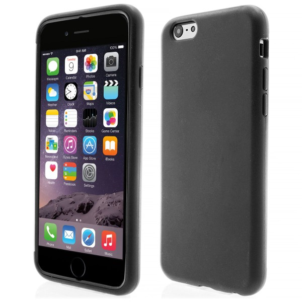 Apple iPhone 6 TPU Touch Case - schwarz